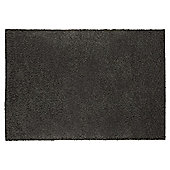 Tesco Alpine Shaggy Rug Charcoal 120X170Cm