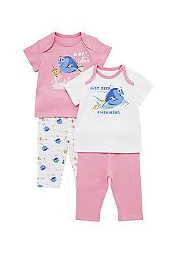 Disney Pixar Finding Nemo 2 Pack of Pyjamas - Pink