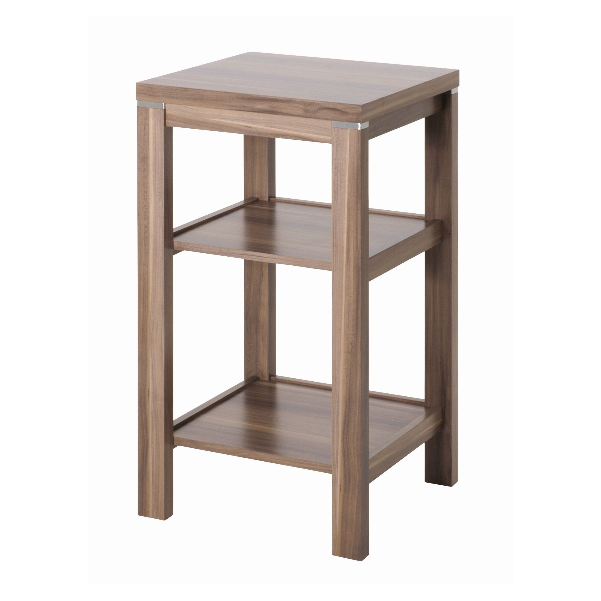 Urbane Designs Samba Nut Console Table in Walnut