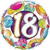 18' 18th Big Dots & Glitz (each)