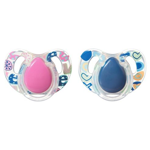 Tommee Tippee Decorated Soothers 6-18 Months X2
