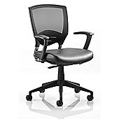 Dynamic Alpha Task Leather Chair