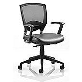 Dynamic Alpha Task Leather Chair
