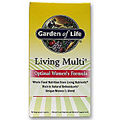 Garden Of Life Living Multi Optimal Womens Formula 90 Caplets