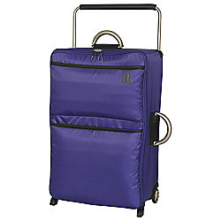 IT Luggage World's Lightest 2-Wheel Suitcase, Orient Blue Large