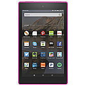 "Amazon Fire HD 8, 8"", Tablet, 8GB, WiFi - Magenta (2015)"