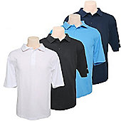 4 Woodworm Golf Polo Shirts - Mens Golf Clothes Large