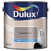 Dulux Matt Emulsion Paint, Dusted Damson, 2.5L