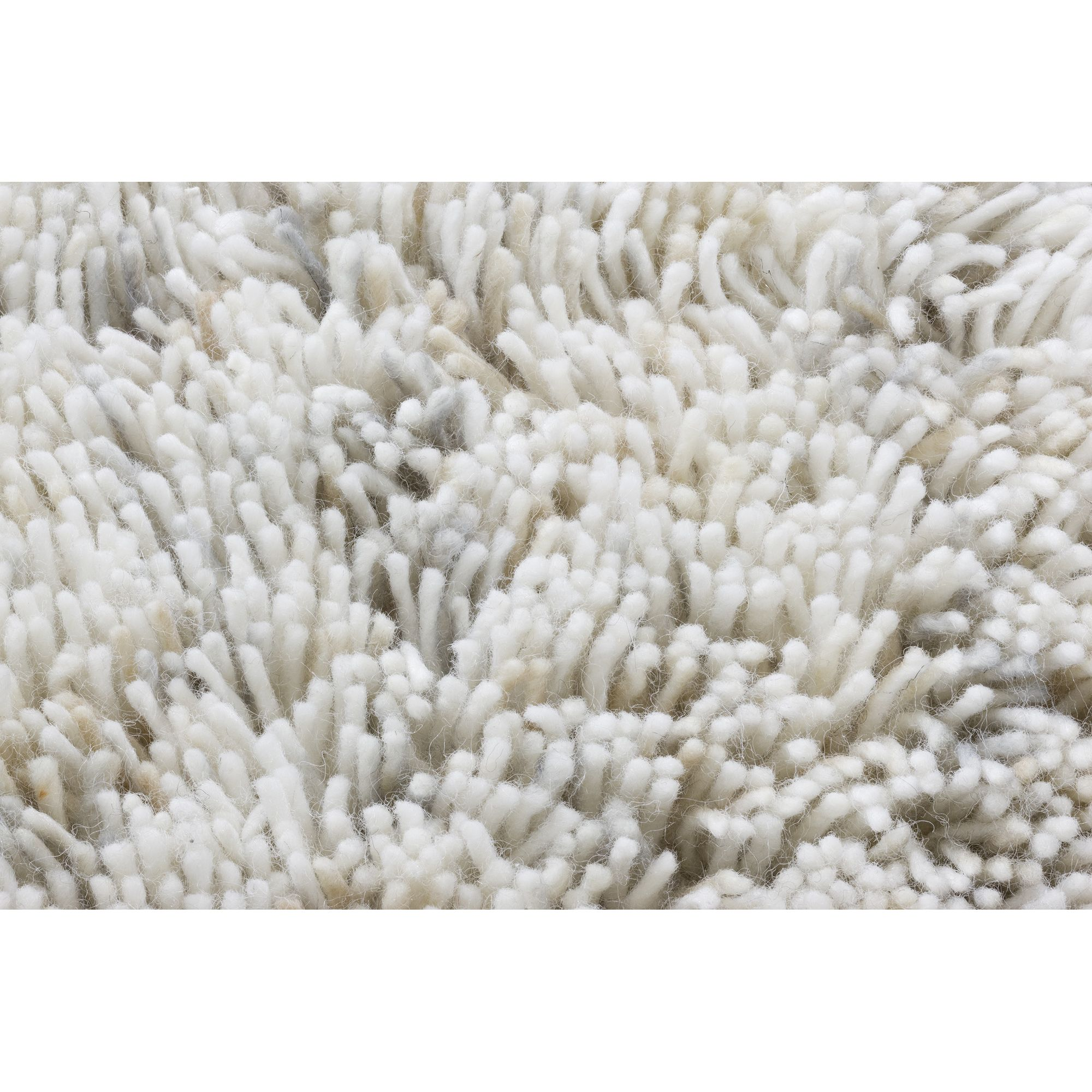 Linie Design Coral White Shag Rug - 300cm x 200cm at Tesco Direct