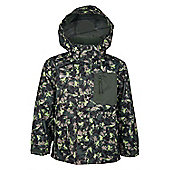 Bounce Kids Waterproof - Taped Seams - Jacket Raincoat Coat - Green