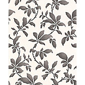 Graham & Brown Sarra Premier Wallpaper - Black