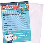 Octonauts Party Invitation Sheets (20pk)