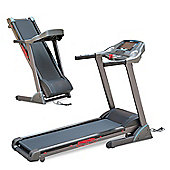 Homcom 2.5HP 0.8-18Km/h Incline Electric Running Treadmill Folding MP3