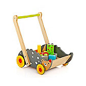 Leomark Wooden Hedgehog Walker with Blocks