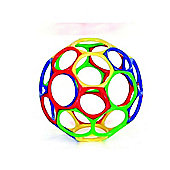 "Oball 4"" Original / Classic Red, Green, Blue and Yellow - 1 Supplied"