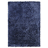 Esprit Cool Glamour Blue Modern Rug - Square 200 cm x 200 cm (6 ft 7 in x 6 ft 7 in)