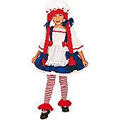 Child Rag Doll Girl Costume Toddler
