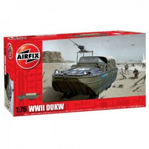 WWII DUKW (A02316) 1:76