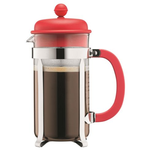 buy bodum 8 cup red cafetiere from our cafetieres range tesco. Black Bedroom Furniture Sets. Home Design Ideas