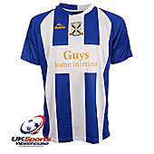 Bukta Limavady United F.C 2009/2010 Home S/S Football Shirt - Multi