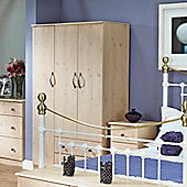 Welcome Furniture Florida 2 Drawer Wardrobe - 182.5 cm H x 95.5cm W