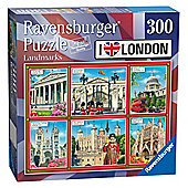 I Love London - Landmarks 300pc Jigsaw Puzzle - Ravensburger