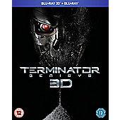 Terminator: Genisys 3D Blu-ray