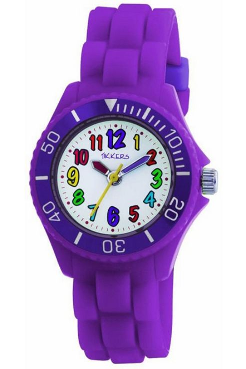 Tikkers Childrens Rubber Strap Watch TK0010