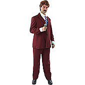 Ron Burgundy Anchorman Costume Extra Large