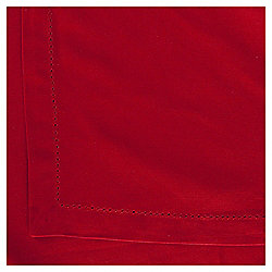 Cotton Tablecloth, Red, 240x180cm