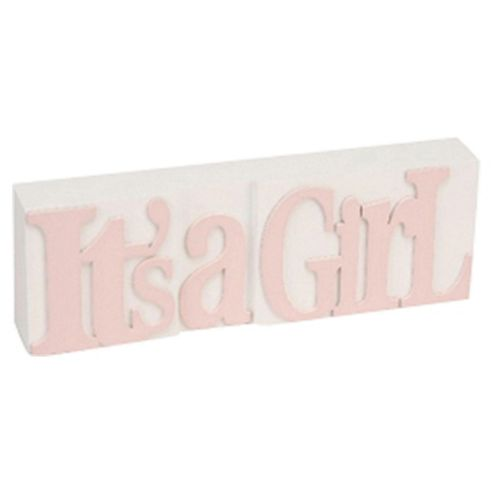 Plaque Its a Girl