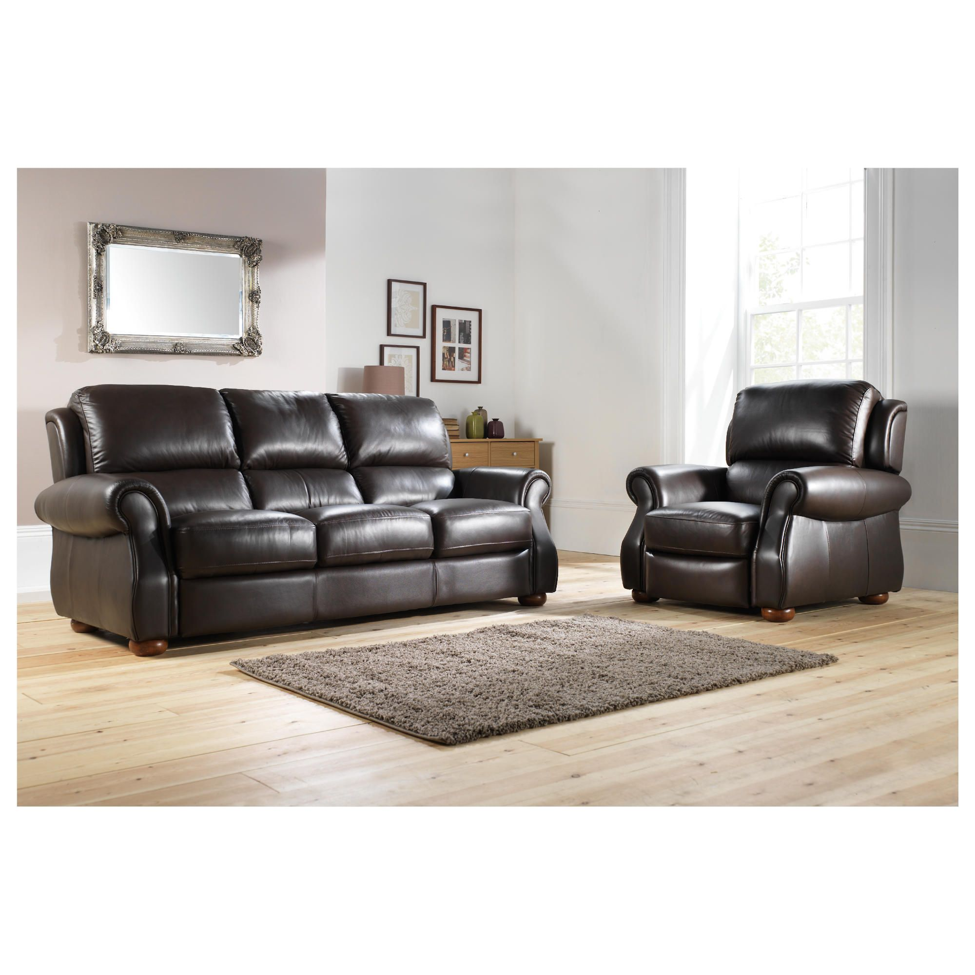 Leather sofas corner sofas sofa beds chesterfield for Paloma leather sofa