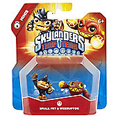 Skylanders Trap Team Mini 2 Pack Fry and Weeruptor