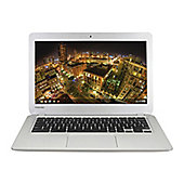Toshiba Chromebook CB30-102 (13.3 inch) Celeron (2955U) 14GHz 16GB Solid State Drive WLAN BT Webcam Google Chrome OS (Intel HD Graphics)