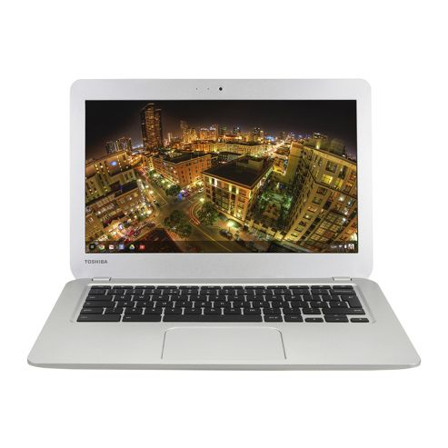 Toshiba Chromebook CB30-102 (13.3 inch) Celeron (2955U) 1.4GHz 16GB Solid State Drive WLAN BT Webcam Google Chrome OS (Intel HD Graphics)