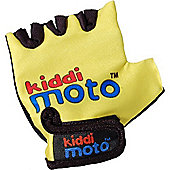 Kiddimoto Gloves Yellow (Medium)