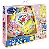 Vtech Baby Play & Learn Activity Table - Pink