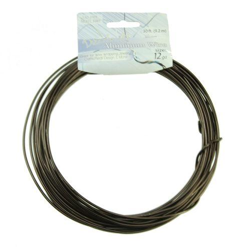 Aluminium Wire 2.5mm Brown