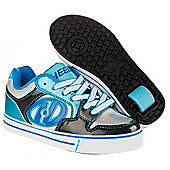 Heelys Motion Boys/Girls Roller Skating Shoe Trainer Choose Colours JNR 12-UK7 - Blue