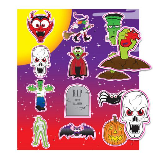Toys Spooky Stickers (each)