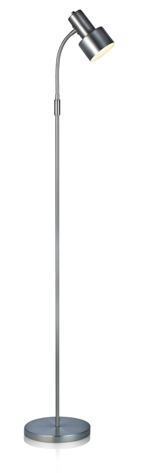 Mark Slojd Glommen 1 Light Floor Lamp - Steel