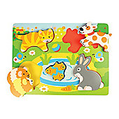 Bigjigs Toys Chunky Lift Out Pets Puzzle