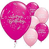 11' Birthday Shining Star (25pk)