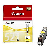 Canon Cli-521 Ink Cartridge with Blister Security - Yellow
