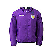 2013-14 Aston Villa Microfiber Travel Jacket (Purple) - Purple