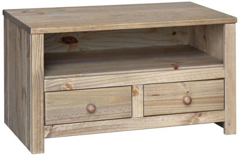 Core Hacienda Waxed Pine Cabinet for up to 37 inch