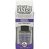 OPI Start To Finish Base Coat, Top Coat & Strengthener 15ml