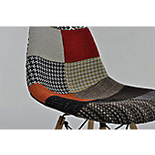 Eames DSW Replica Dining Chair Patchwork