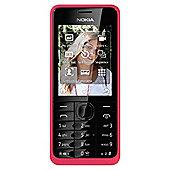 T-Mobile Nokia Asha 301 Pink