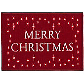 Merry Christmas Door Mat / Rug